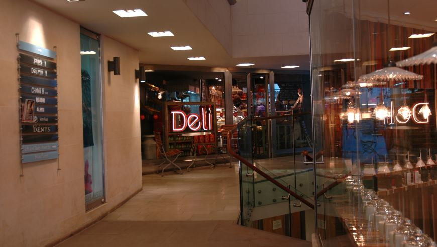 Deli Bath Simon Davies, shopfitters