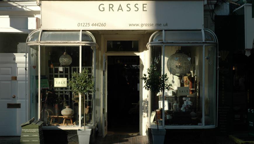 grasse shop fitting by simon davies